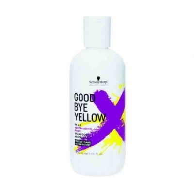 GOOD BYE YELLOW SHAMPOO...